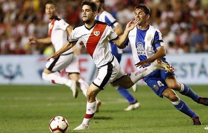 Rayo y Espanyol se reparten los puntos en un partido sin pausa