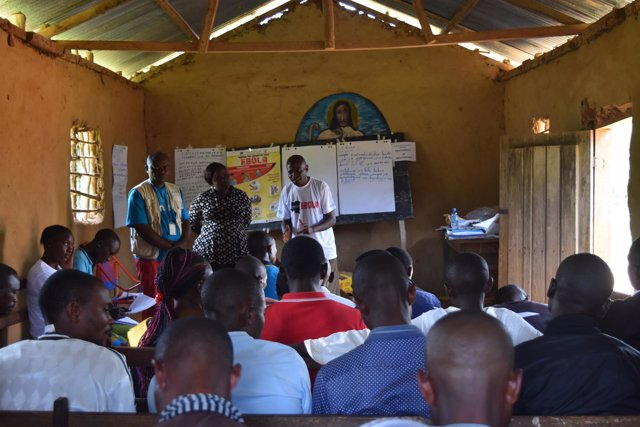 Campaña de concienciación contra el ébola en RDC