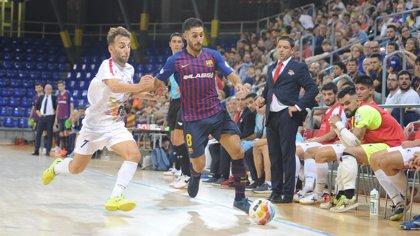 Barça Lassa y Palma Futsal, líderes tras golear a Segovia y Santa Coloma