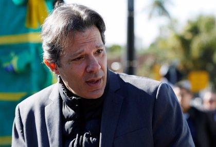 Haddad superaría a Bolsonaro en una segunda vuelta de las presidenciales de Brasil, según una encuesta