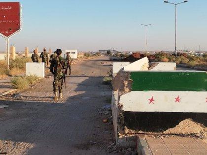 Siria matiza que la frontera con Jordania se reabrirá el 10 de octubre