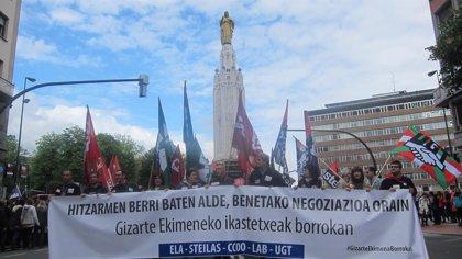 Crecen un 31,5% las jornadas perdidas por huelgas secundadas en Euskadi hasta julio