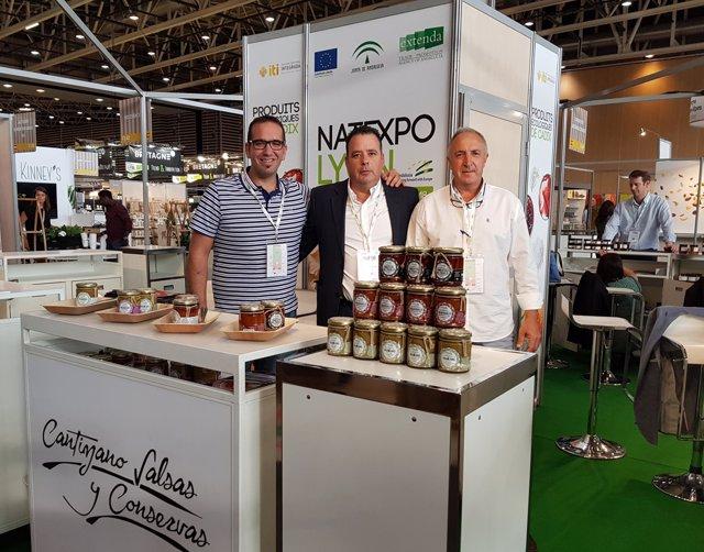 Empresas de Cádiz participan en la feria Natexpo Lyon