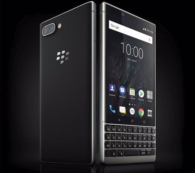 👍 BlackBerry KEY2 una herramienta de trabajo con doble cámara
