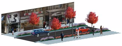 Nueve empresas optan a ejecutar las obras de renovación urbana de Isabel II