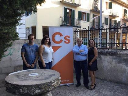 """Cs constituye una nueva Junta Local en Alaró para aplicar """"transparencia"""" y defender una """"política cercana"""""""