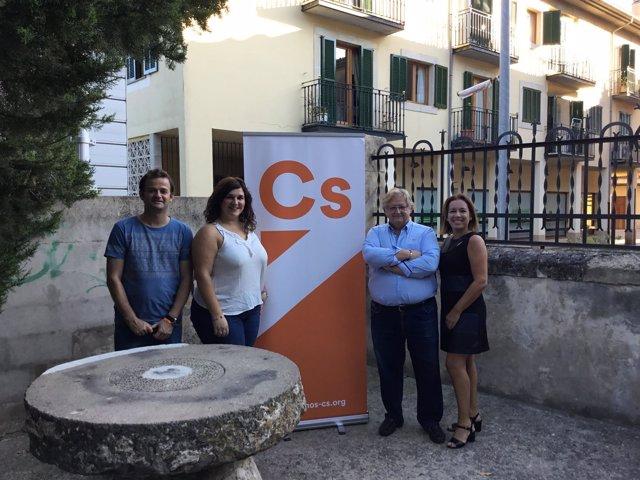 Ciudadanos (Cs)| Cs Baleares Presenta La Junta Local De Alaró