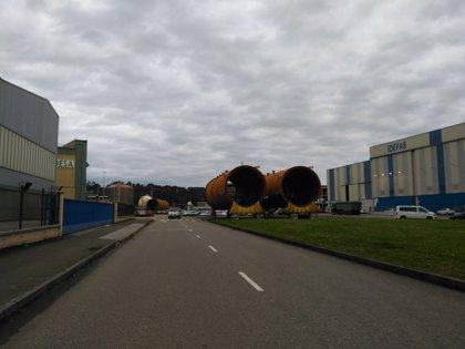 Las obras de acceso al PEPA obligan a restringir la circulación en la zona