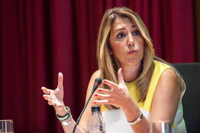 La presidenta de la Junta, Susana Díaz, en una imagen de archivo