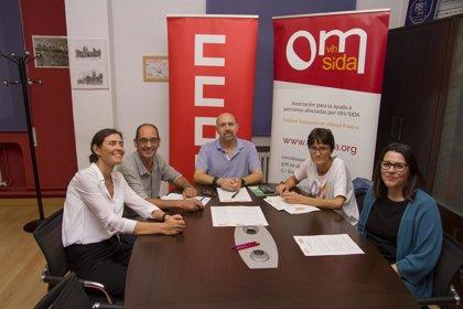CCOO y la asociación OMSida firman un convenio para luchar contra la discriminación laboral