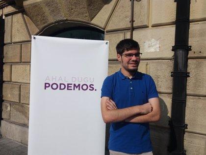 """Podemos rechaza """"los cantos de sirena"""" sobre EPSVs del Gobierno Vasco y pide un sistema de pensiones público y sólido"""