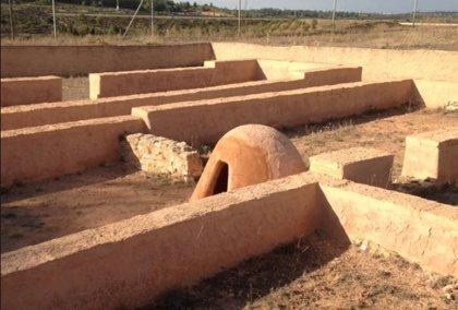 El yacimiento arqueológico de Kelin luce de nuevo tras repararse los daños por un acto vandálico