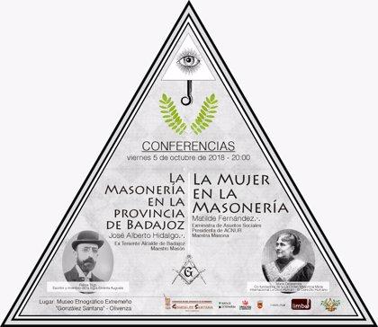 El Museo Etnográfico de Olivenza (Badajoz) ofrece el 5 de octubre dos conferencias sobre la masonería
