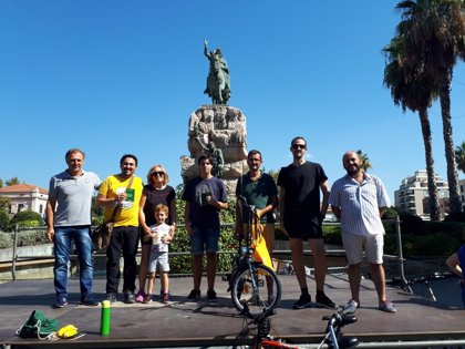 El 'Rodabarris' 2018 de la Semana Europea de la Movilidad culmina con la participación de una treintena de personas