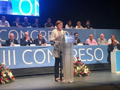 """La nueva presidenta de Foro, Carmen Moriyón, se ofrece a liderar """"un proyecto de cambio real"""" para la región"""