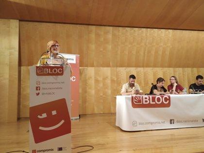 """Bloc afirma que Sánchez """"se tendrá que ganar"""" el voto de Compromís en los PGE porque no le dieron """"un cheque en blanco"""""""