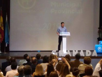 """Moreno: Si hay """"adelanto electoral"""" en Andalucía es """"porque Susana Díaz tiene miedo a la corrupción"""""""