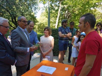"""Más de 250 participantes en la gymkhana celebrada en el Jardín Botánico para """"explorar el mundo vegetal"""""""