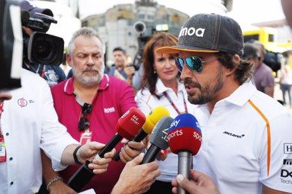 """Alonso: """"Los neumáticos serán la clave de la carrera"""""""