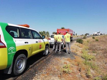 Reabierto al tráfico el tramo de la A-49 cortado tras la colisión mortal entre dos camiones