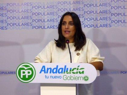 """PP replica que """"no hay mayor insulto a andaluces que seguir líderes en paro y pobreza tras 40 años de gobiernos de PSOE"""""""