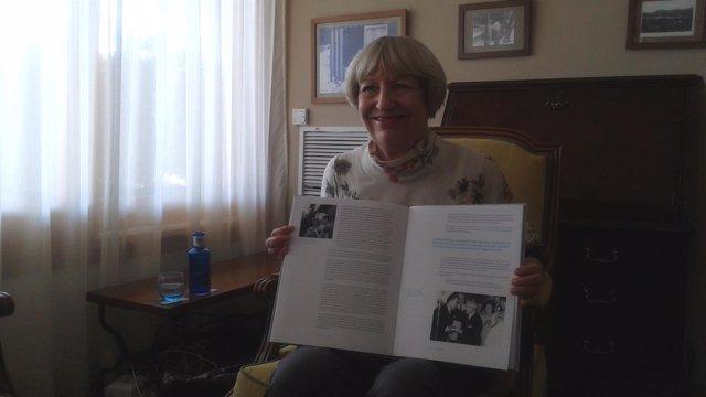 La escritora Ginevra Bompiani