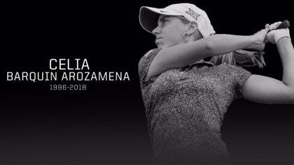 El cuerpo de la golfista Celia Barquín llega a Cantabria