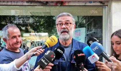 Riera (CUP) pide la dimisión de Buch por las cargas de los Mossos contra los soberanistas