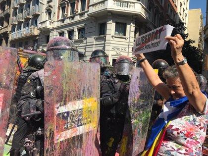 Torra defiende a Buch y los Mossos aunque analizará la actuación policial en la manifestación