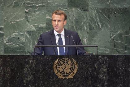 Macron, preocupado por la situación en Venezuela, apela al diálogo con la oposición