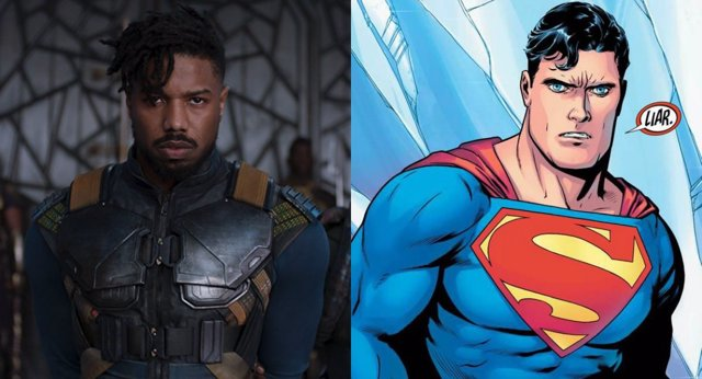 Michael B. Jordan como Superman