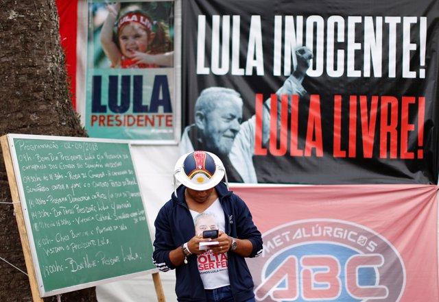 Seguidor de Luiz Inácio Lula da Silva en Curitiba