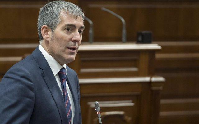 Clavijo: 'La aprobación del REF y el Estatuto marcarán la diferencia para los canarios en el futuro'