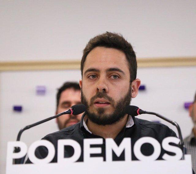 Ran Casamayor, Secretario de Organización de Podemos Comunidad de Madrid