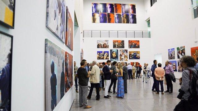 Exposición de Antoni Miró en La Marina