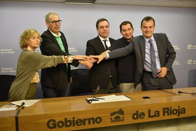 Acuerdo Mesa Educación de La Rioja