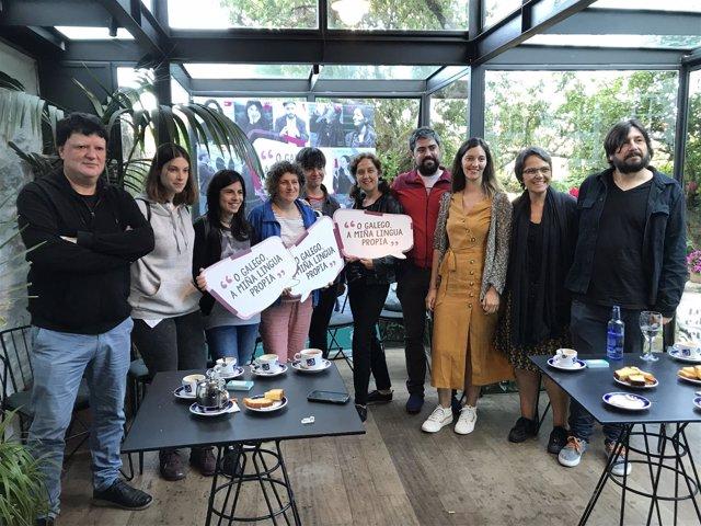 Persentación de 'O galego, a miña lingua propia'