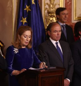 Ana Pastor y Pío García Escudero