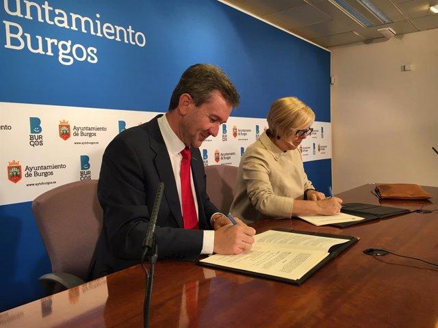 Javier Lacalle Y María Jesús Delgado.