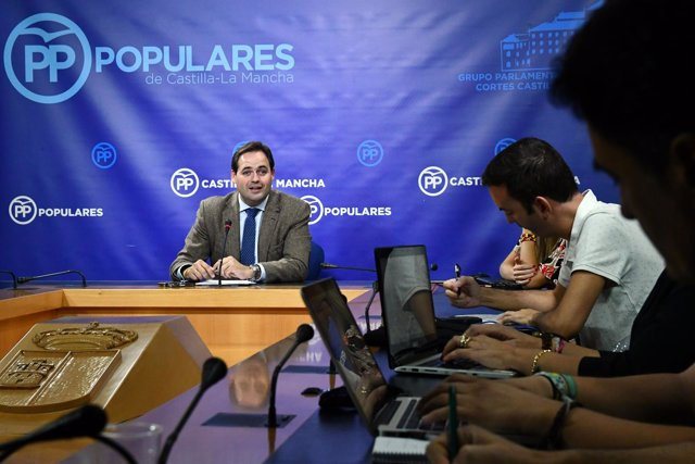 Candidato del PP de C-LM, Francisco Núñez