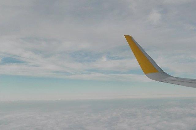 Avión, aeropuerto, volar