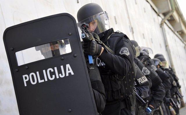 Policía de Eslovenia (archivo)