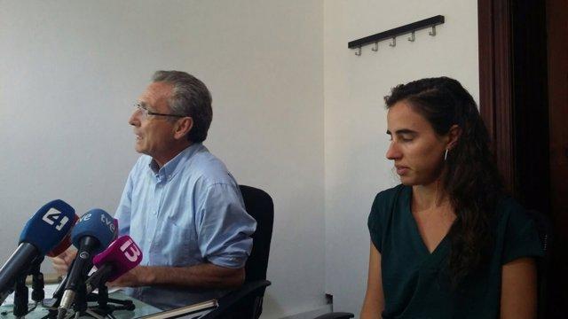 Jaume Garau de Palma XXI y la arquitecta María Gómez