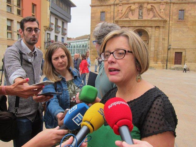 La vicealcaldesa  de Oviedo, Ana Taboada
