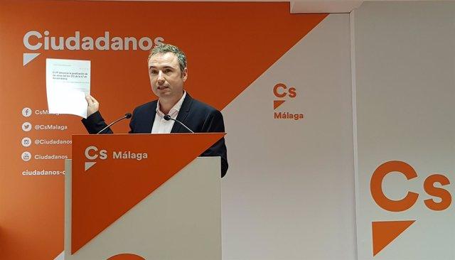Guillermo Díaz diputado por Málaga CS ciudadanos Congreso Diputados