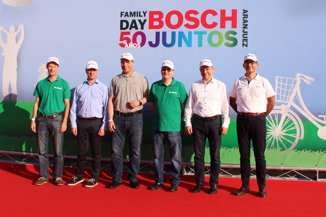 Aniversario de la planta de Bosch en Aranjuez