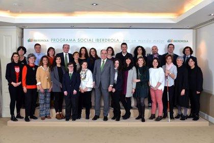 Iberdrola destina 1,5 millones a su Programa Social 2019, que beneficiará a más de 80.000 personas