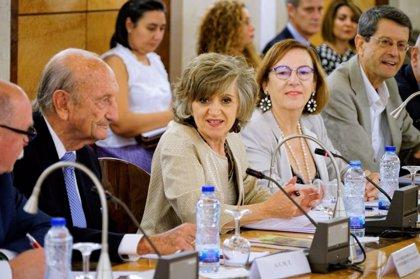 """Carcedo reivindica el papel de los mayores en la recuperación de derechos en la Transición: """"Gracias por esa aportación"""""""