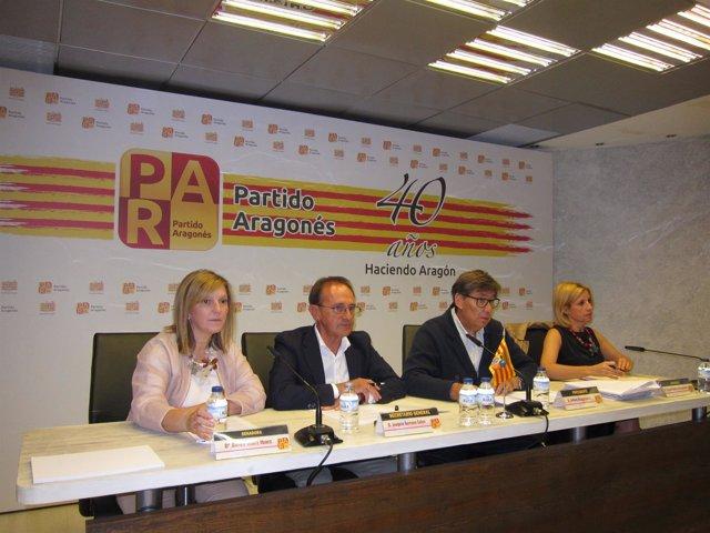 PAR ha advertido de la baja ejecución de las inversiones de Fomento en Aragón