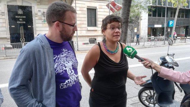 Natàlia Sànchez, Vidal Aragonés (CUP)